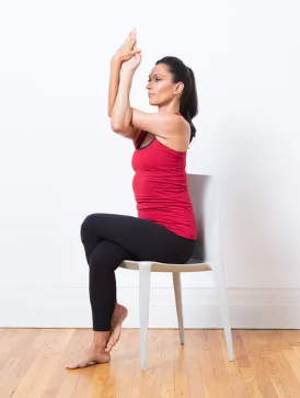chair yoga poses for home practice  alliance work partners