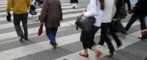 Pedestrians-Walking-Crosswalk