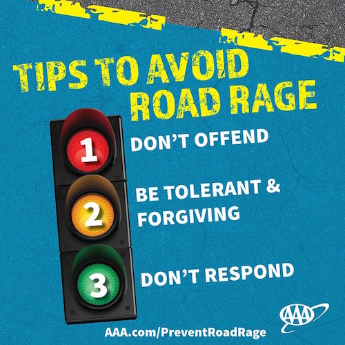 avoid road rage Many of us have experienced road rage but it's something you need to avoid, especially if you want to be a responsible road user read our four top tips on how to stay calm on the road.