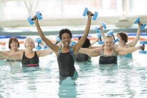 water-aerobics-class